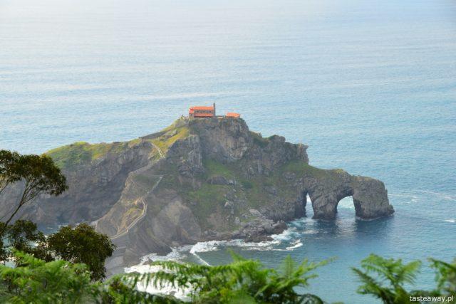 San Juan de Gaztelugatxe, Kraj Basków, co zobaczyć w Kraju Basków, najciekawsze miejsca w Kraju Basków, najpiękniejsze miejsca w Kraju Basków