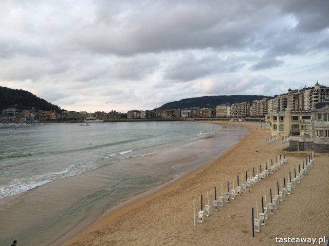 San Sebastian, Donostia, Kraj Basków, co zobaczyć w Kraju Basków, najciekawsze miejsca w Kraju Basków, najpiękniejsze miejsca w Kraju Basków, la Concha
