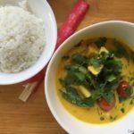 żółte curry z tofu – 23 zł