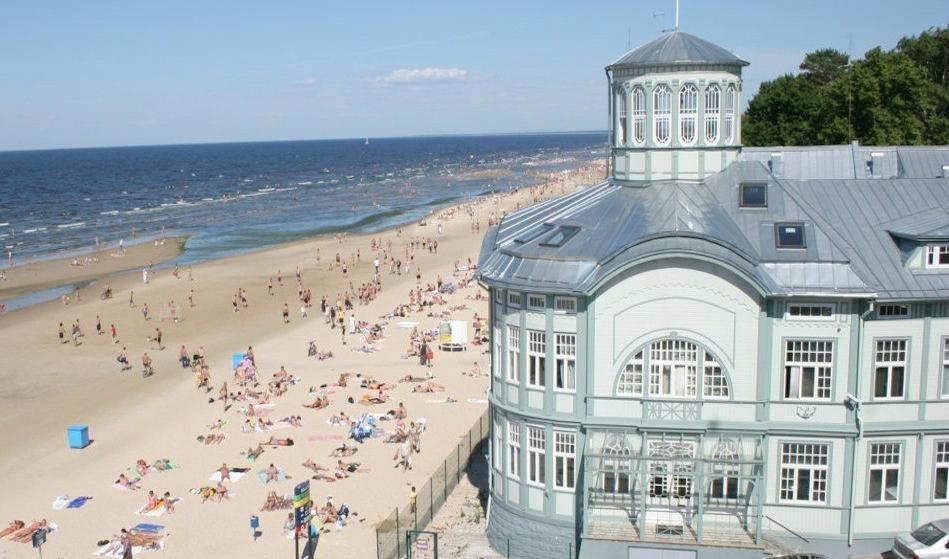 Łotwa, co zobaczyć na Łotwie, atrakcje na Łotwie, Jurmała, plaża Jurmała