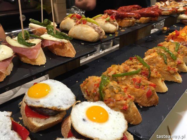 Kraj Basków, pintxos, Kraj basków kulinarnie, co robić w Kraju Basków, co zobaczyć w Kraju Basków, pintxos bary