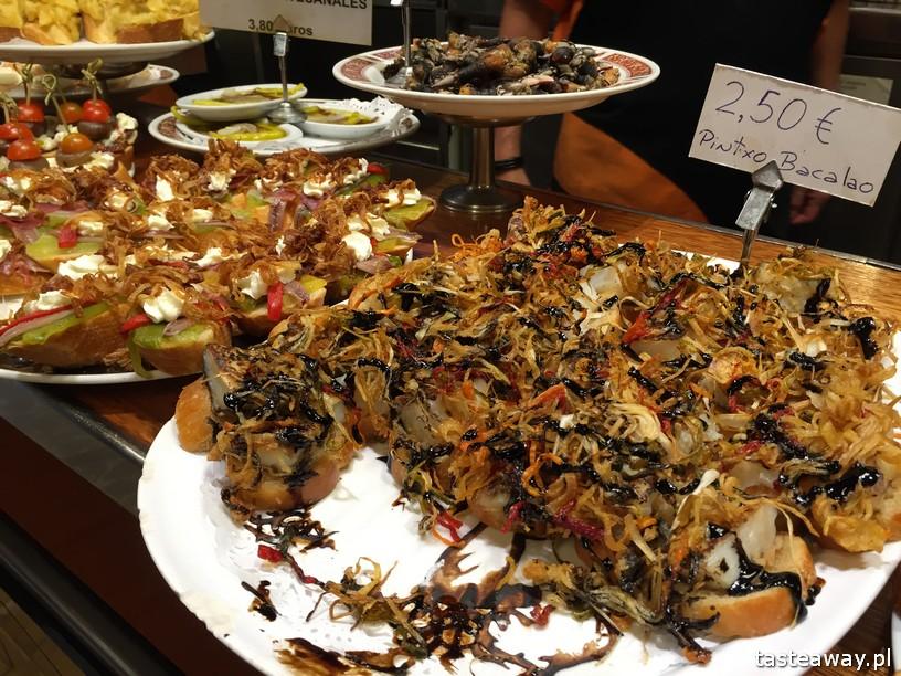 Kraj Basków, pintxos, Kraj basków kulinarnie, co robić w Kraju Basków, co zobaczyć w Kraju Basków, pintxos bary, San Sebastian, Donosti,