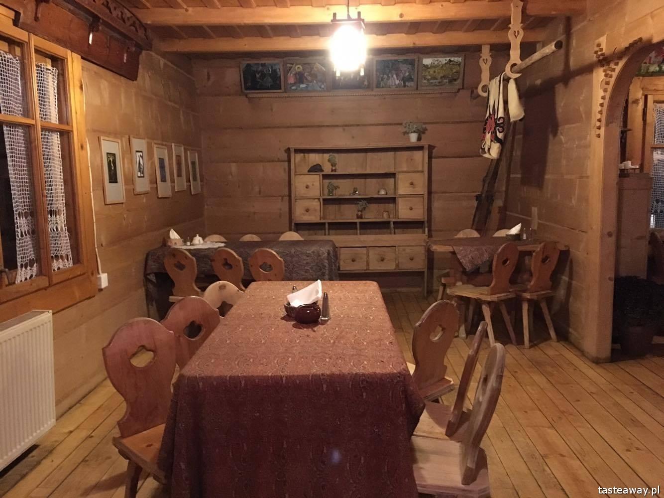 Zakopane, gdzie jeść w Zakopanem, u Zięby, leśniczówka u Zięby, Dolina  Chochołowska