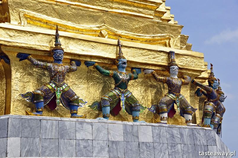 Bangkok, Tajlandia, co zobaczyć w Tajlandii, co zwiedzić w Tajlandii, co zobaczyć w Bangkoku, świątynei Bangkoku, Wielki Pałac