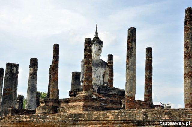Tajlandia, co zobaczyć w Tajlandii, Sukhothai, kompleks ruin w Sukhothai, zwiedzanie Tajlandii