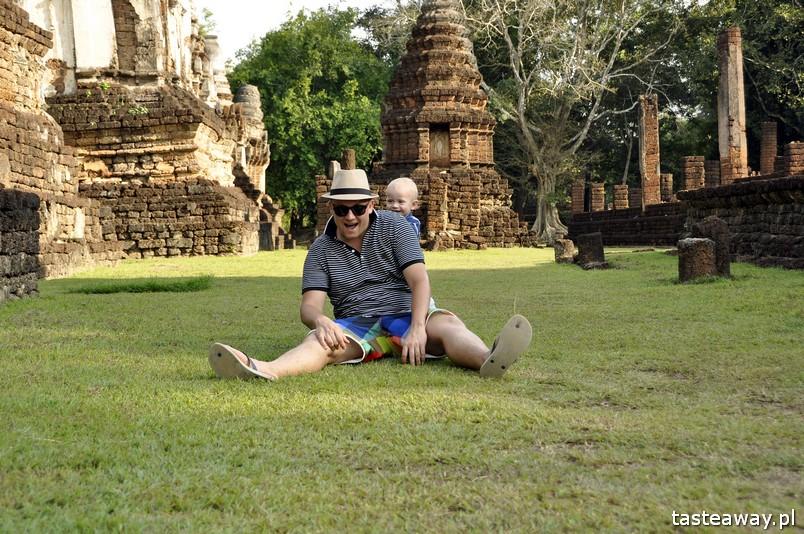 Tajlandia, co zobaczyć w Tajlandii, Sukhothai, kompleks ruin w Sukhothai, zwiedzanie Tajlandii, Si Satchanalai