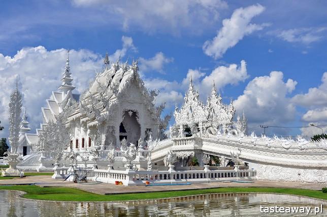 Tajlandia, co zobaczyć w Tajlandii, Chiang Rai, pólnoc Tajlandii, co zobaczyć na północy Tajlandii, White Temple