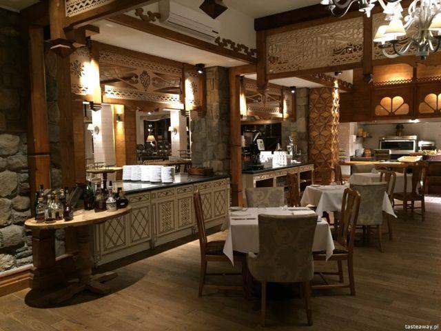 Zakopane, gdzie jeść w Zakopanem, restauracje Zakopane, jedzenie Zakopane, Halka, hotel Aries, najlepsze restauracje w Zakopanem