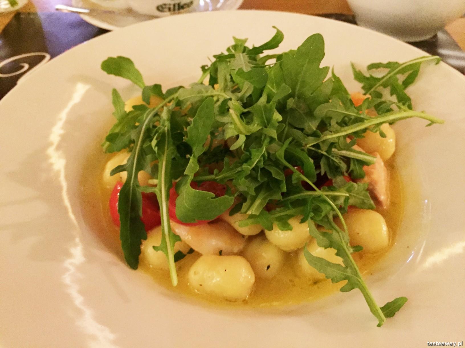 gdzie jeść w Zakopanem, Zakopane i okolice, kuchnia włoska Zakopane, pizza Zakopane, Villa Toscana, gnocchi