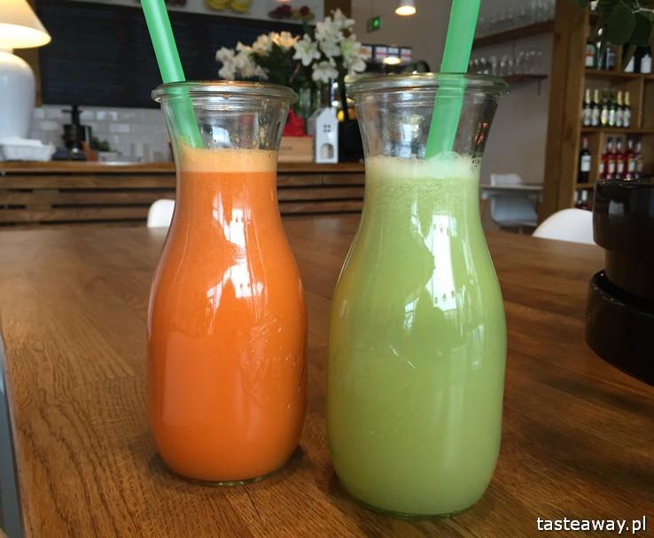 I Love Juice, miasteczko Wilanów, Hurom, wyciskarki Hurom, soki wyciskane, zdrowy lunch, gdzie na lunch