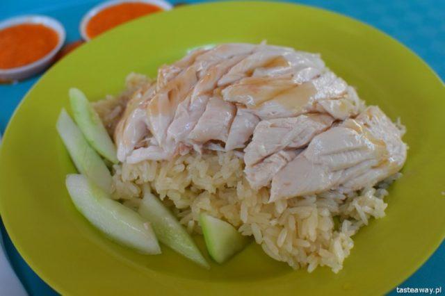street food, kuchnia uliczna, street food, który musisz spróbować, potrawy kuchni ulicznej, Singapur, co jeść w Singapurze, hainanese chicken rice