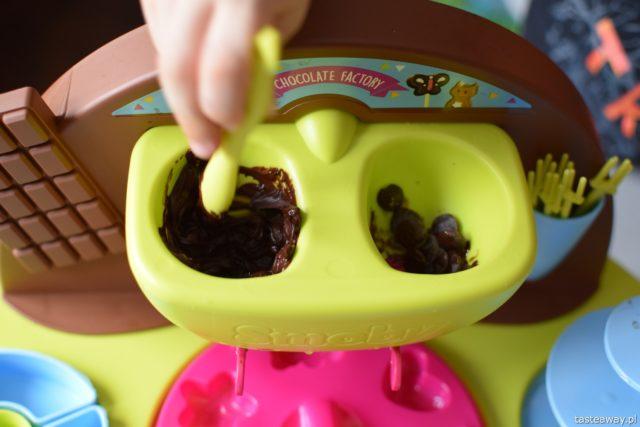 co na prezent, prezent dla 5 latka, Smoby Chef, dzieci gotują, jak zrobić czekoladki z dziećmi, Chocolate Factory od Smoby Chef