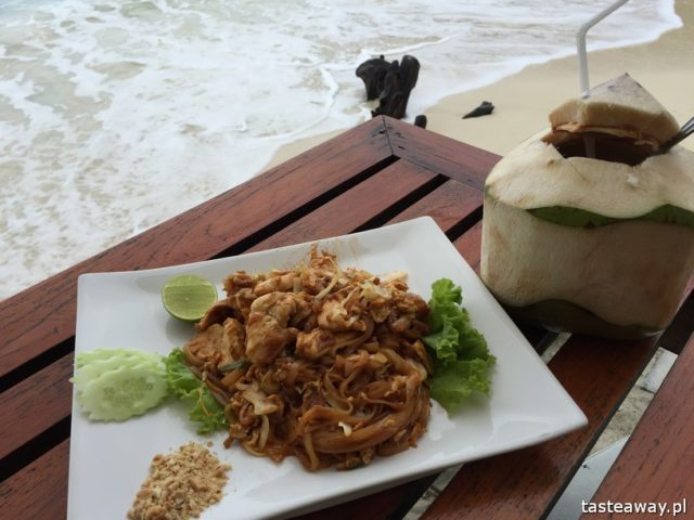 Koh Phangan, tajskie wyspy, Tajlandia, Tajlandia - gdzie na plażę, wakacje w Tajlandii, plażowanie w Tajlandii, Green Papaya Resort,tajska kuchnia, pad thai