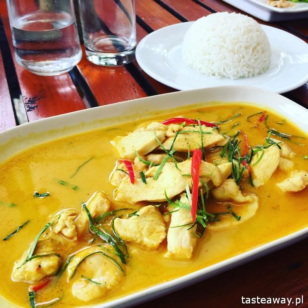 Koh Phangan, tajskie wyspy, Tajlandia, Tajlandia - gdzie na plażę, wakacje w Tajlandii, plażowanie w Tajlandii, Green Papaya Resort,tajska kuchnia, panaeng curry