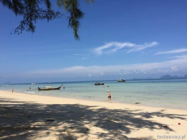 Koh Ngai, rajskie wyspy, gdzie na rajską plażę, Koh Lanta, tajskie wyspy, co zobaczyć w Tajlandii, Koh Hai