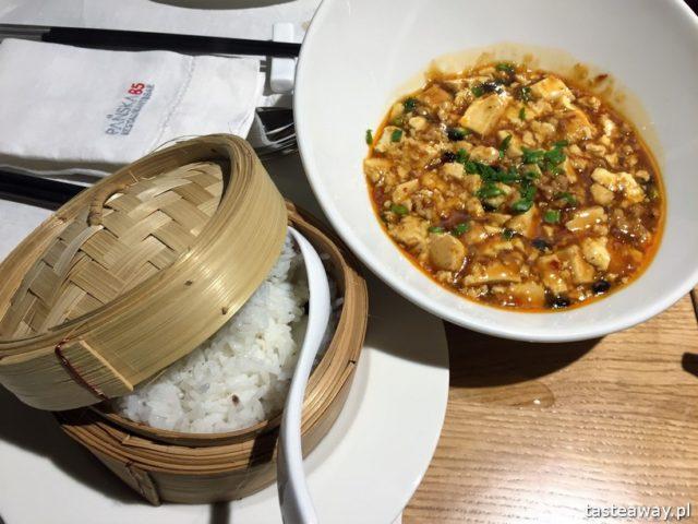 kuchnia chińska, kuchnia chińska w Warszawie, gdzie na chińska, nowe chińska, Pańska 85, tofu mapo