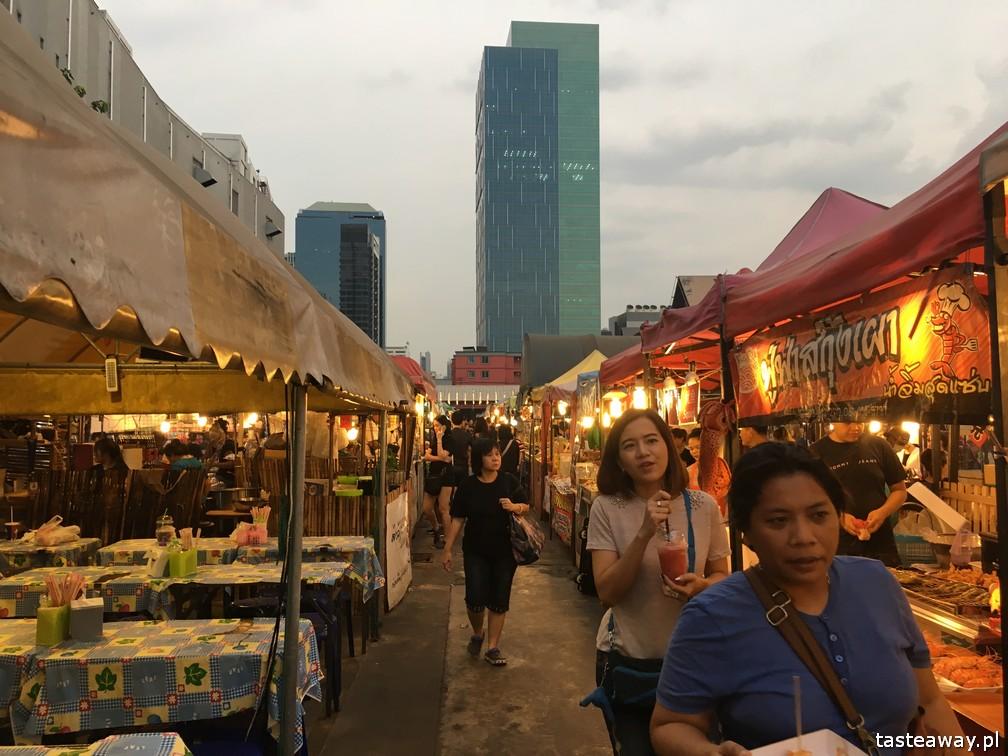Bangkok, co robić w Bangkoku, atrakcje Bangkoku, Ratchada Train Night Market, Ratchada Night Market