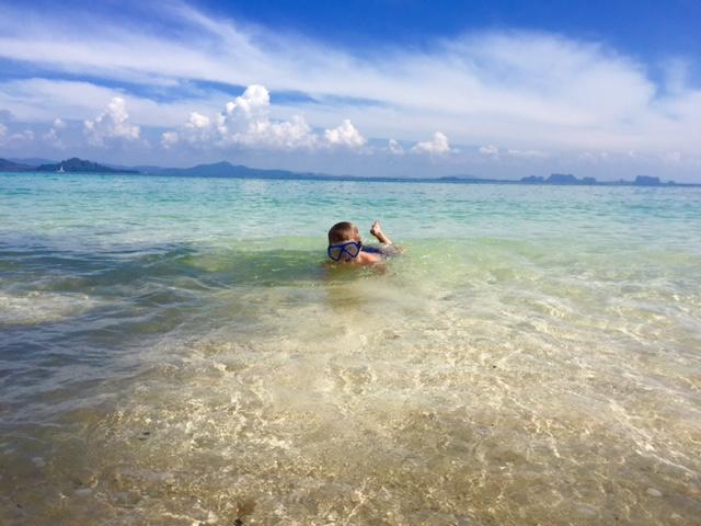 podróże z dzieckiem, Tajlandia z dzieckiem, Maks w Tajlandii, Koh Ngai, Koh Kradan