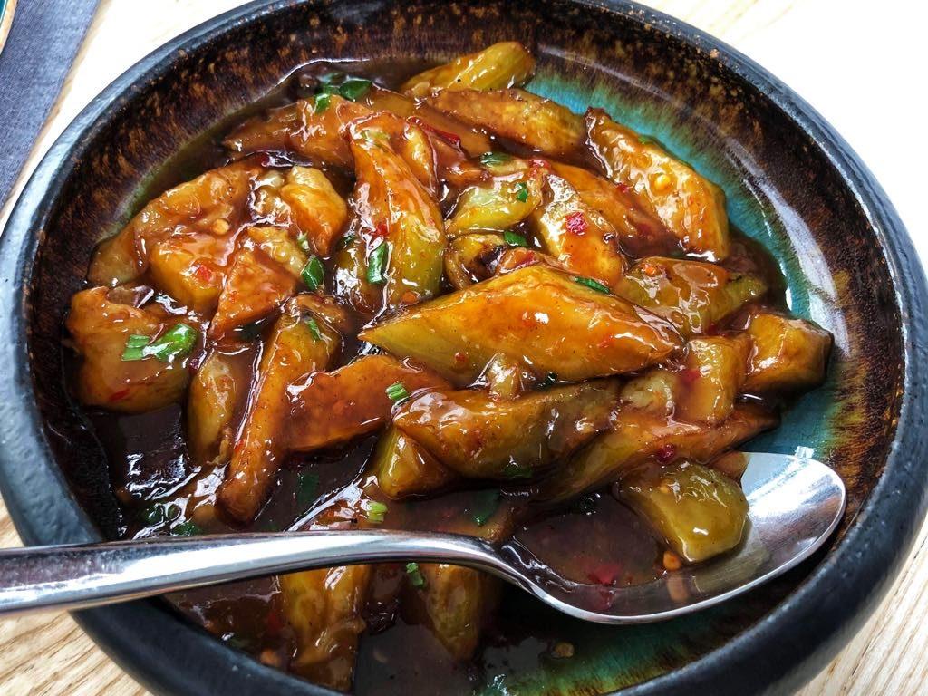 panska-85-baklazan w sosie ostrygowym