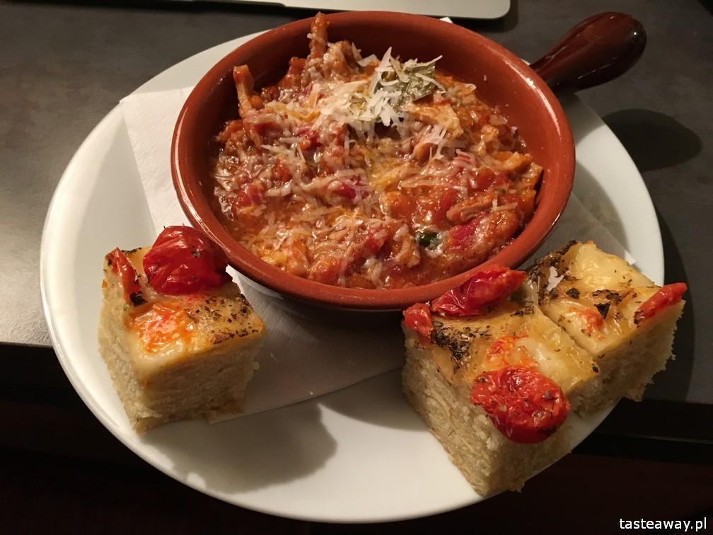 kuchnia włoska, gdzie na włoskie, gdzie na makaron, kuchnia włoska w Warszawie, pasta nduja, campofilone, najlepsze makarony, Culiinaria Italiana, trippa