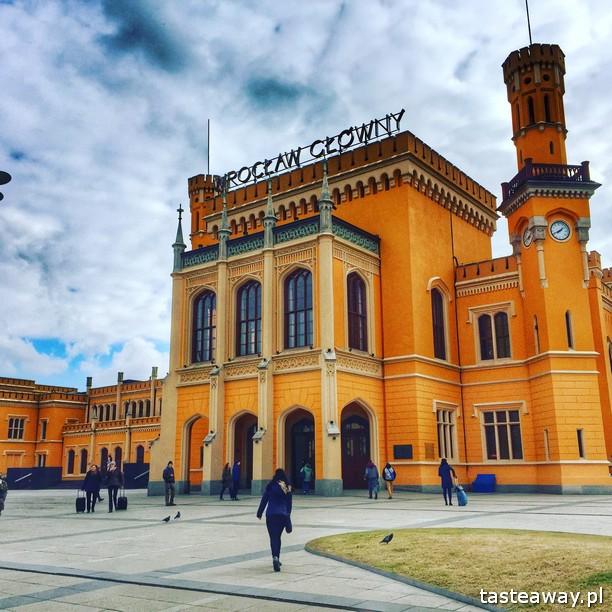 Wrocław, weekend we Wrocławiu, co robić we Wrocławiu, dworzec kolejowy Wrocław