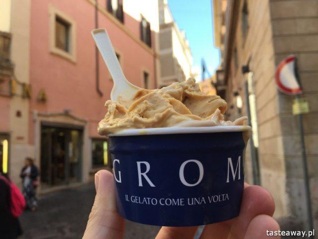 Rzym, lodziarnie w Rzymie, gdzie na lody w Rzymie, gdzie na kawę w Rzymie, najlepsze lody w Rzymie, najlepsza kawa w Rzymie, GROM
