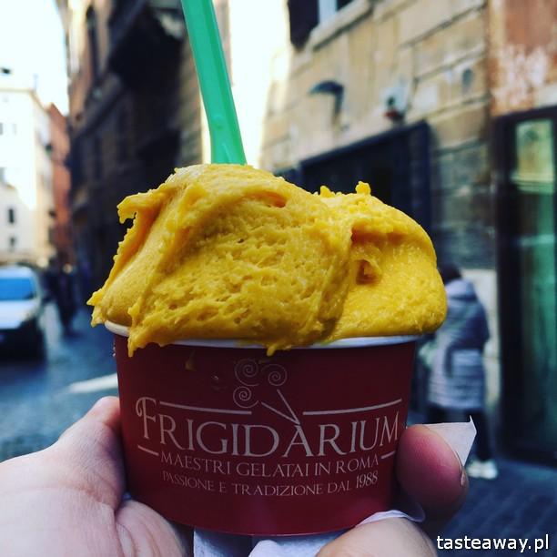 Rzym, lodziarnie w Rzymie, gdzie na lody w Rzymie, gdzie na kawę w Rzymie, najlepsze lody w Rzymie, najlepsza kawa w Rzymie, Sensodyne, Frigidarium