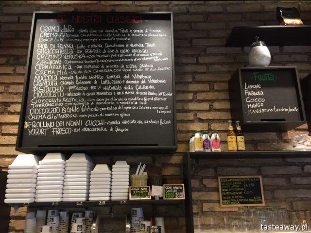 Rzym, lodziarnie w Rzymie, gdzie na lody w Rzymie, gdzie na kawę w Rzymie, najlepsze lody w Rzymie, najlepsza kawa w Rzymie, daRe