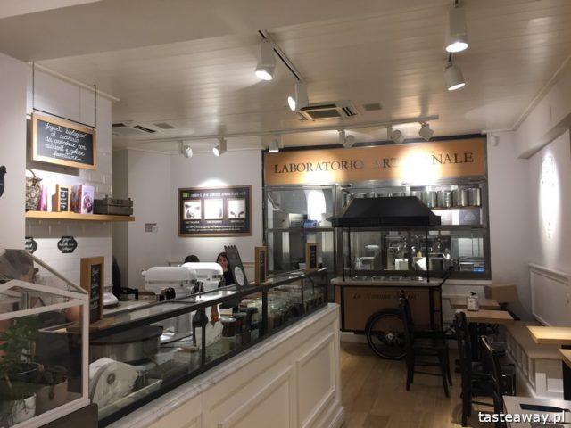 Rzym, lodziarnie w Rzymie, gdzie na lody w Rzymie, gdzie na kawę w Rzymie, najlepsze lody w Rzymie, najlepsza kawa w Rzymie, Sensodyne, La Romana