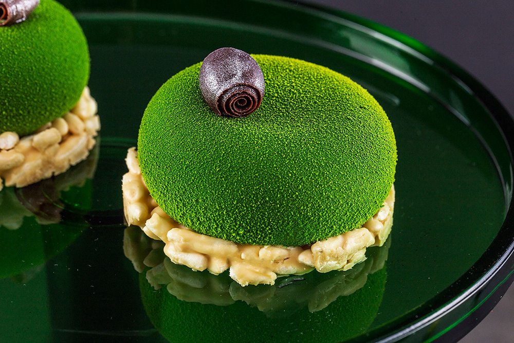 matcha, desery z matchą, japońska zielona herbata matcha, DESEO