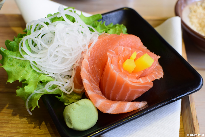 kuchnia japońska w Warszawie, kuchnia japoński, ramen, udon, Uki Uki, sashimi