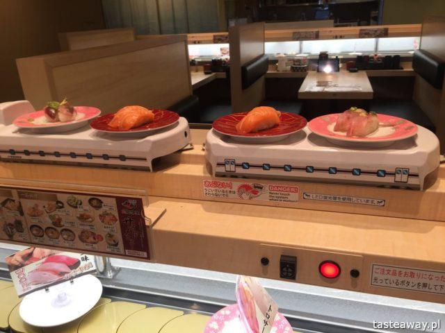 sushi w Japonii, jakie jest sushi w Japonii, jak smakuje sushi w Japonii, nigiri, inari
