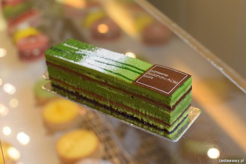 matcha, japońska zielona herbata matcha, matcha latte, Japonia, co jeść w Japonii, japońskie desery, Sadaharu Aoki