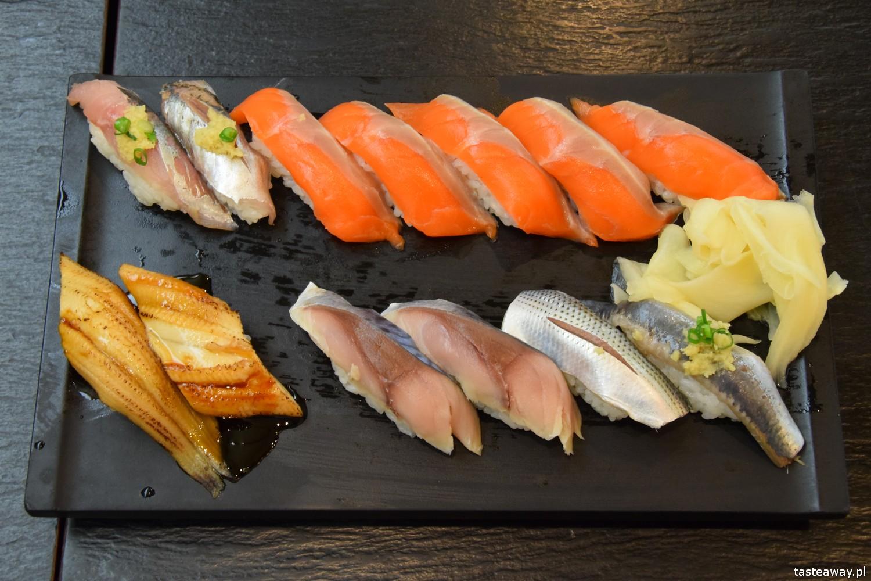 Japonia, co jeść w Japonii, czego warto spróbować w Japonii, sushi w Japonii, sushi
