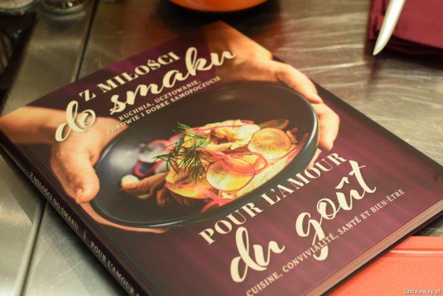 """warsztaty kulinarne,  """"Z miłości do smaku"""" książka Carrefour, David Gaboriaud, kuchnia francuska, gotować po francusku, książka z francuskimi przepisami,"""