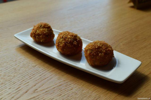 Euskadi - kuchnia baskijska, tapas, pintxos, Kraków, gdzie jeść w Krakowie, kuchnia baskijska, croquetas de jamon