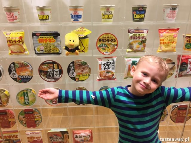 Japonia, japońskie ciekawostki, Noodle Cup, Yokohama