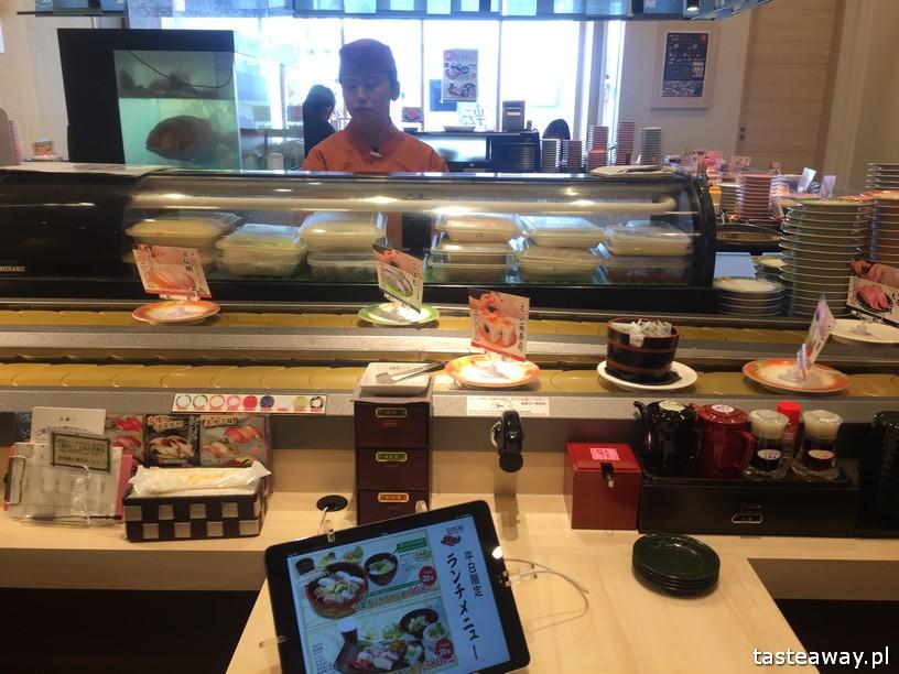 Japonia, sushi w Japonii, ciekawostki w Japonii, Japonia z dzieckiem, automatyzacja