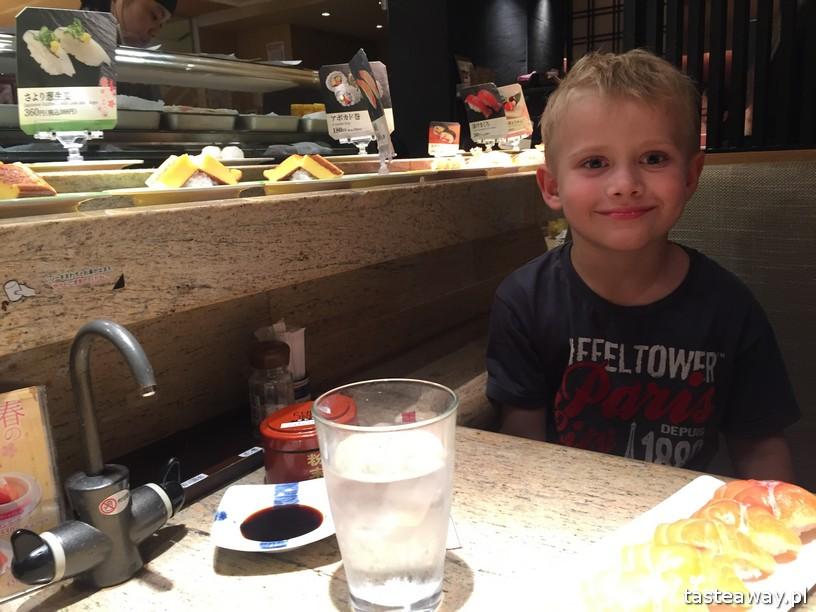 Japonia, sushi w Japonii, ciekawostki w Japonii, Japonia z dzieckiem