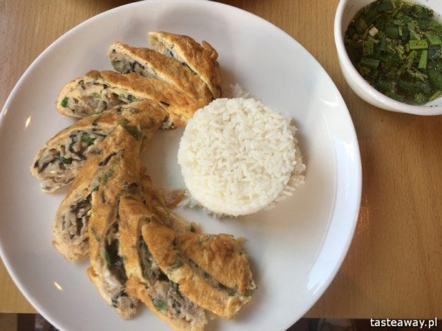 kaczka po pekińsku, kuchnia azjatycka, kuchnia azjatycka w Warszawie, pekin Express, kuchnia chińska, omlet z wieprzowiną