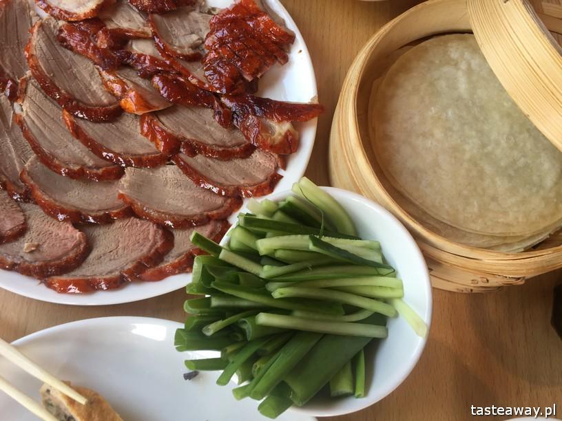 kaczka po pekińsku, kuchnia azjatycka, kuchnia azjatycka w Warszawie, pekin Express, kuchnia chińska