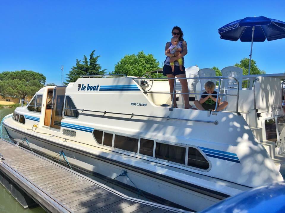 podróże z dzieckiem, dziecko w podróży, 7 lat w podróży, na barce, Francja