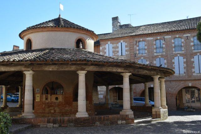 Francja, co zobaczyć we Francji, najpiękniejsze francuskie miasteczka, Oksytania, Auvillar, Occitanie