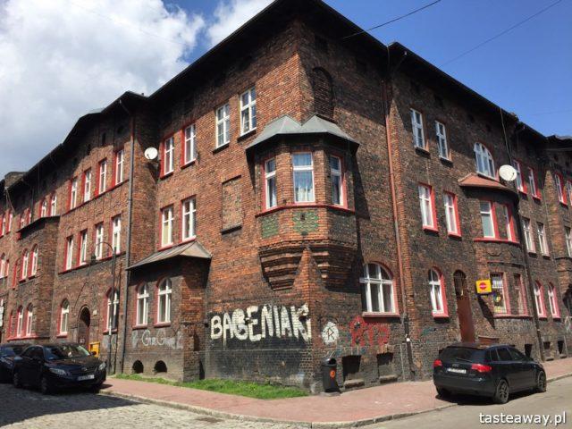 Katowice, co zobaczyć w Katowicach, Nikiszowiec, zachwycający Nikiszowiec, Nikisz, weekend w Katowicach, Cafe Byfyj