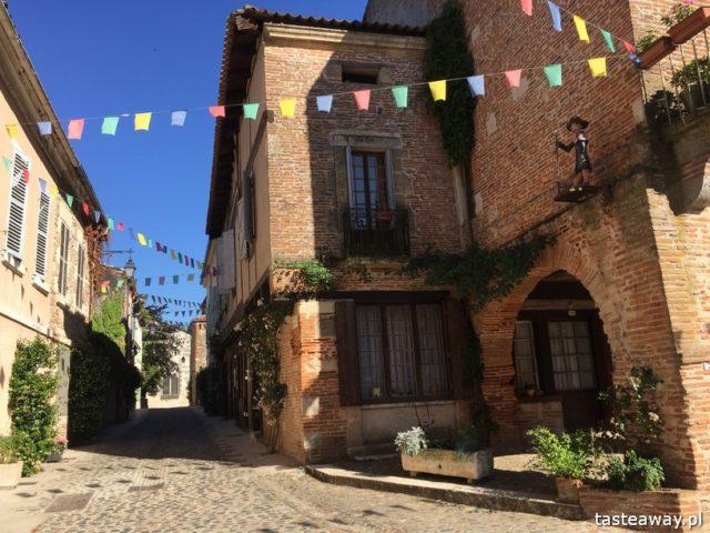 Francja, co zobaczyć we Francji, najpiękniejsze francuskie miasteczka, Oksytania, Auvillar, Occitanie,