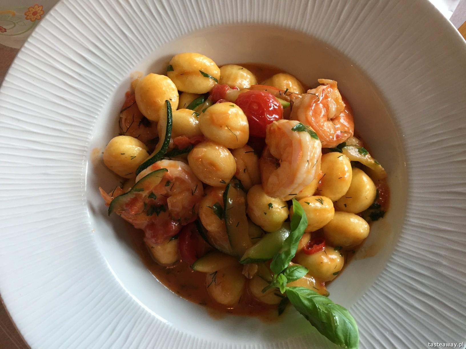 restauracje przyjazne dzieciom, restauracje rodzinne, kuchnia włoska, żoliborz, Pasadena, gdzie na obiad z dziećmi, gnocchi