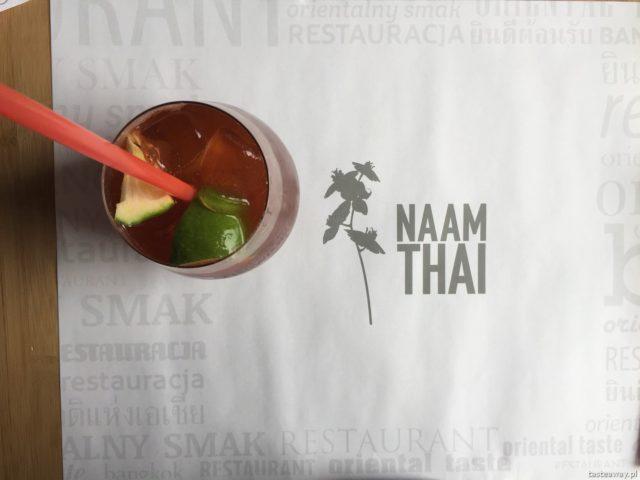 Naam Thai, Naam Thai Burakowska, gdzie na tajskie, tajskie z dziećmi, kuchnia tajska, najlepsze tajskie w Warszawie, pad thai, tajska herbata