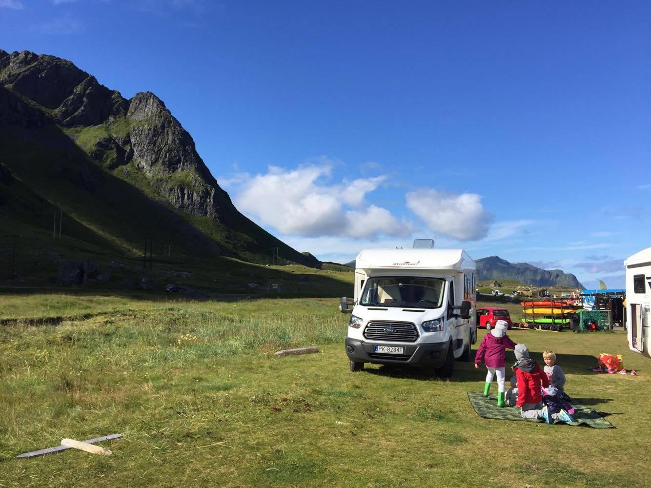 podróż kamperem, ile kosztuje podróż kamperem, kamperem koszty, kamperem po Skandynawii