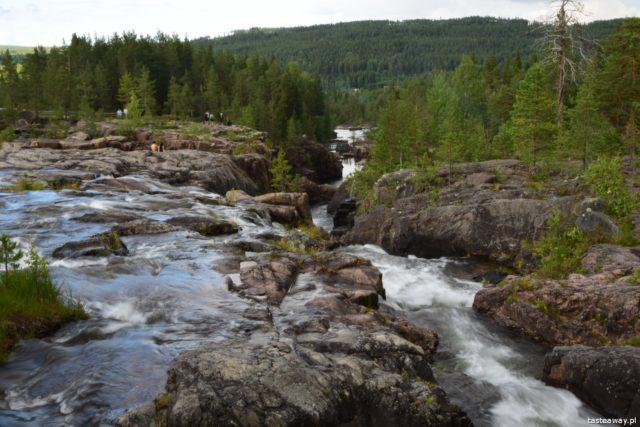 Szwecja, Mavikens Camping, natura, co robić w Szwecji, urlop w Szwecji, wakacje w SzwecjiSzwecja, Mavikens Camping, natura, co robić w Szwecji, urlop w Szwecji, wakacje w Szwecji, wodospad, Storfosen