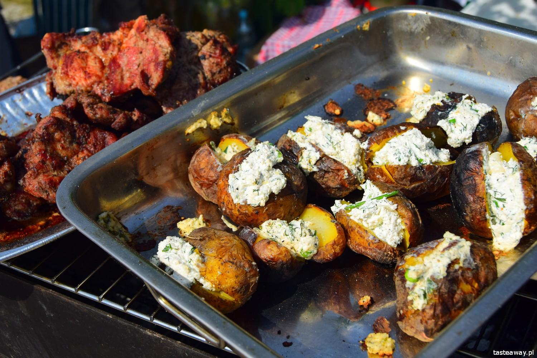 Tatarska Jurta, Sabantuj, festiwal tatarski, kuchnia tatarska, Tatarzy w Polsce, kibiny, grillowane ziemniaki